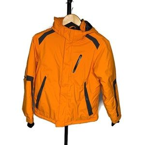 L.L. Bean Kids Orange Winter Jacket